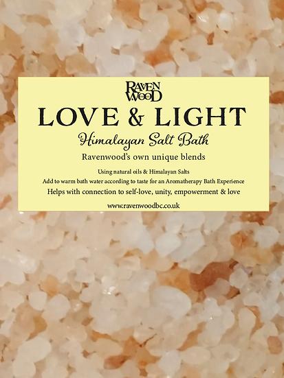 Love & Light - Himalayan Salt Bath