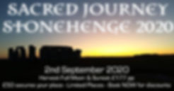 RAVENWOOD SACRED JOURNEY STONEHENGE 2020