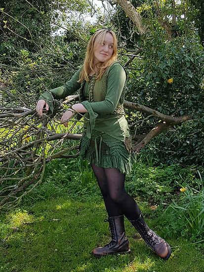 Elfin Woodland Wrap Skirt