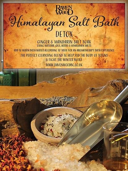Himalayan Salt Bath -Detox