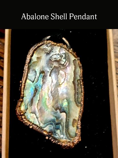 Handcrafted Abalone Shell Pendant