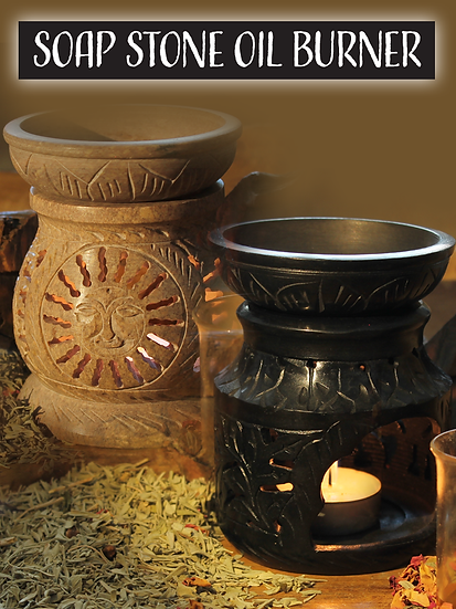 Soap Stone Oil Burners