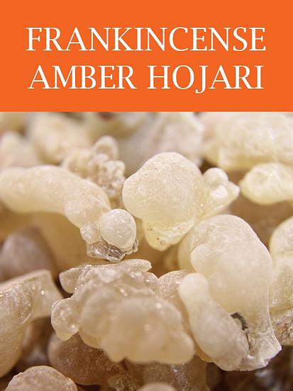 Frankincense Amber Hojari