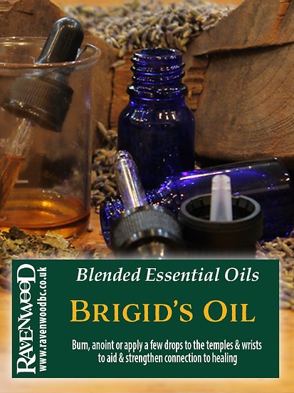 Brigid's Healing Oil