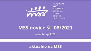 MSS novice št. 08/2021sreda, 14. april 2021