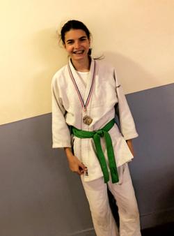 Vice championne de région pour Samira