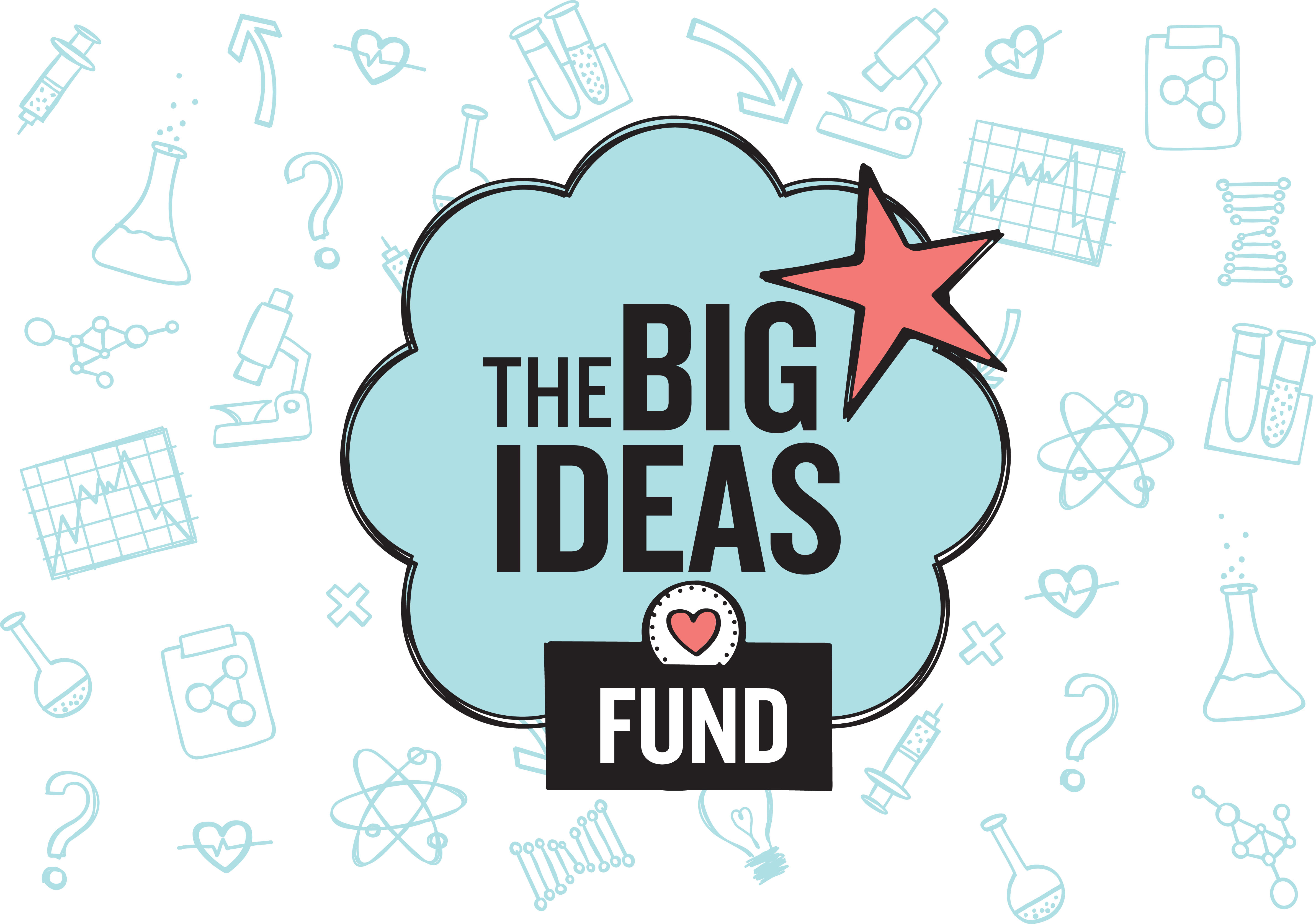 The Big Ideas Fund Logo with Icons