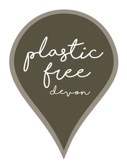 Plastic free Devon logo