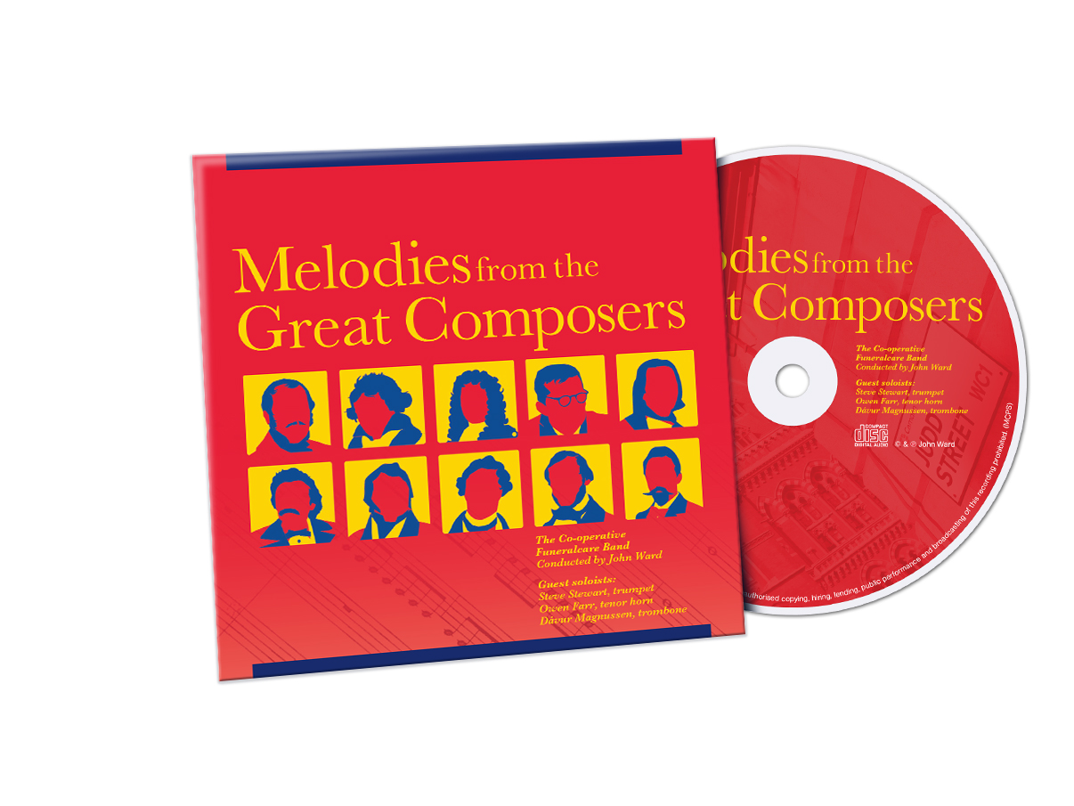Melodies album cover and CD