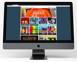 Olbys website - home
