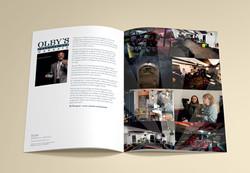 Olbys programme inside spread