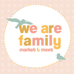 We are Family logo and flyer