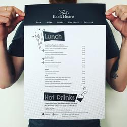 Paul's menu