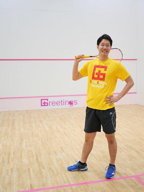 Greetings Squash スポーツシャツ 全14色(Greetings)