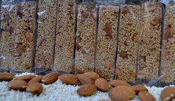Palanquetas de Amaranto con Almendra