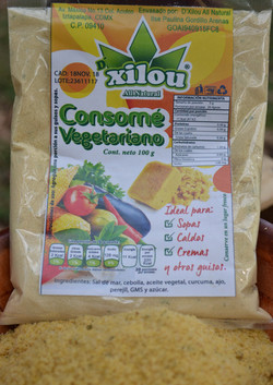 Consomé Vegetariano 100g.