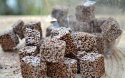 Cubos de Amaranto con Chocolate