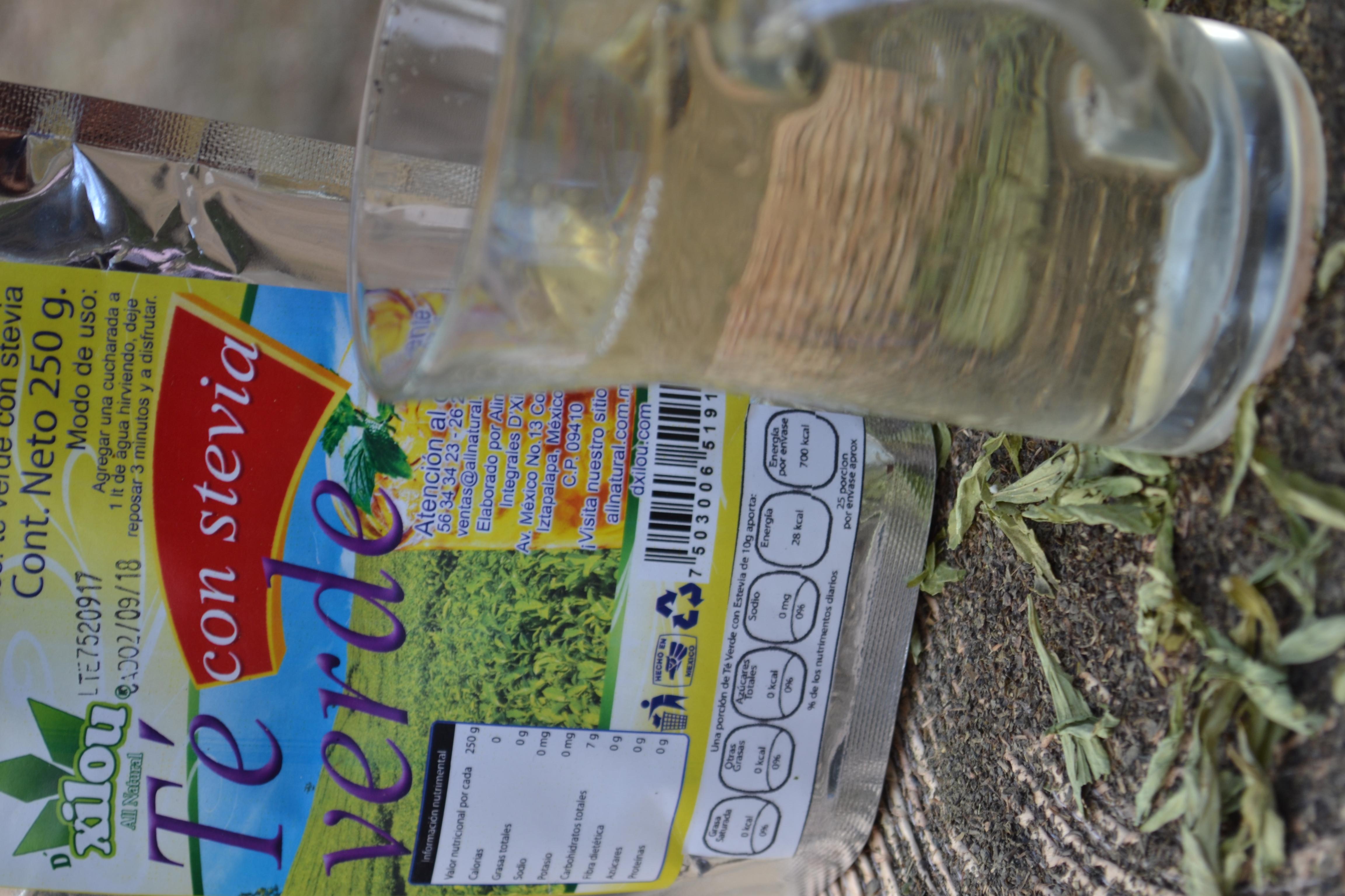 Te Verde con Stevia 250g.