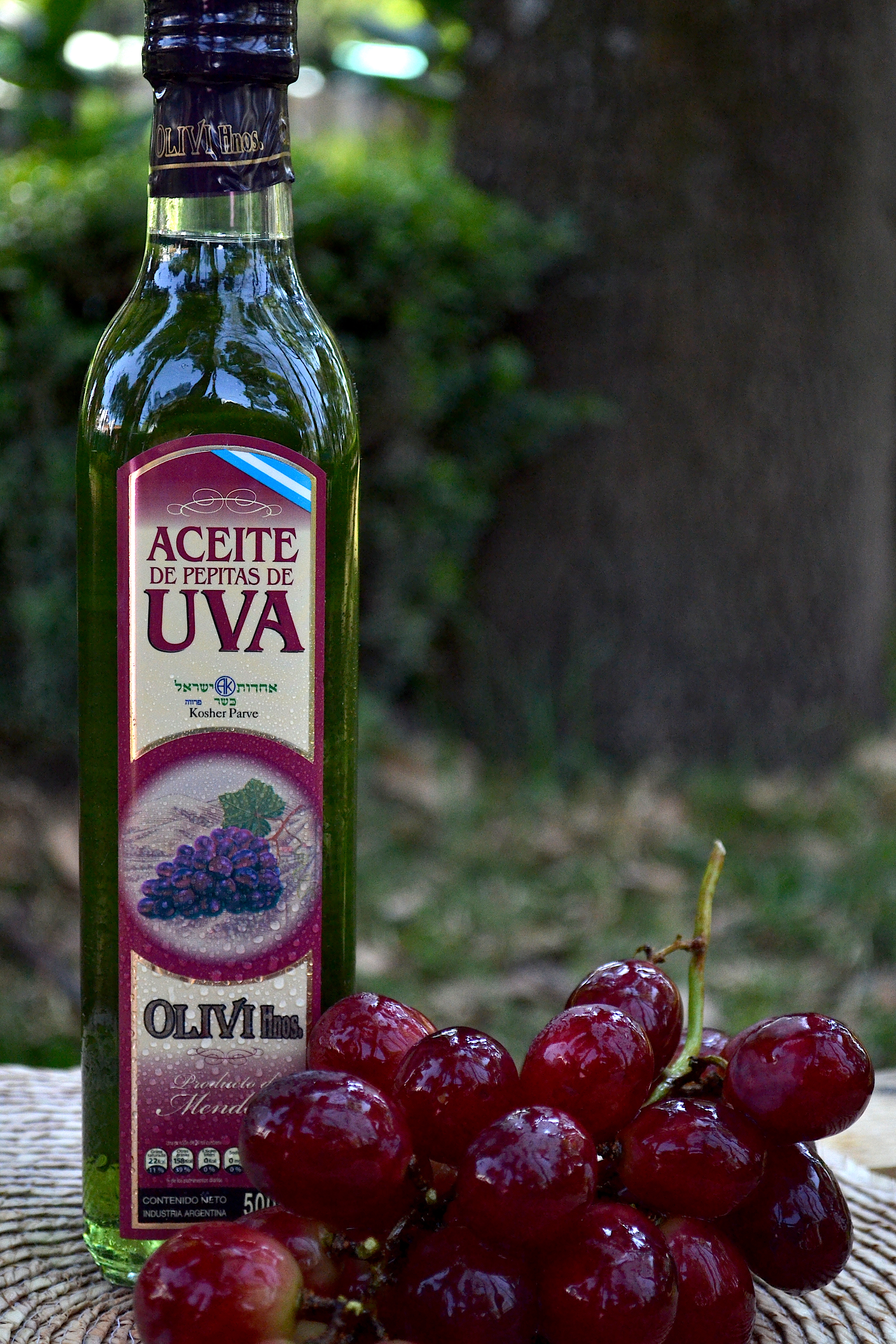 Aceite de uva 500ml.