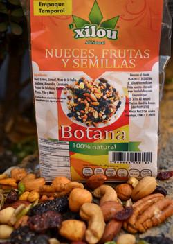 Nueces, frutas y semillas 250g.