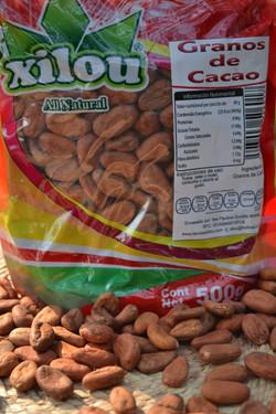 Granos de Cacao 500g.