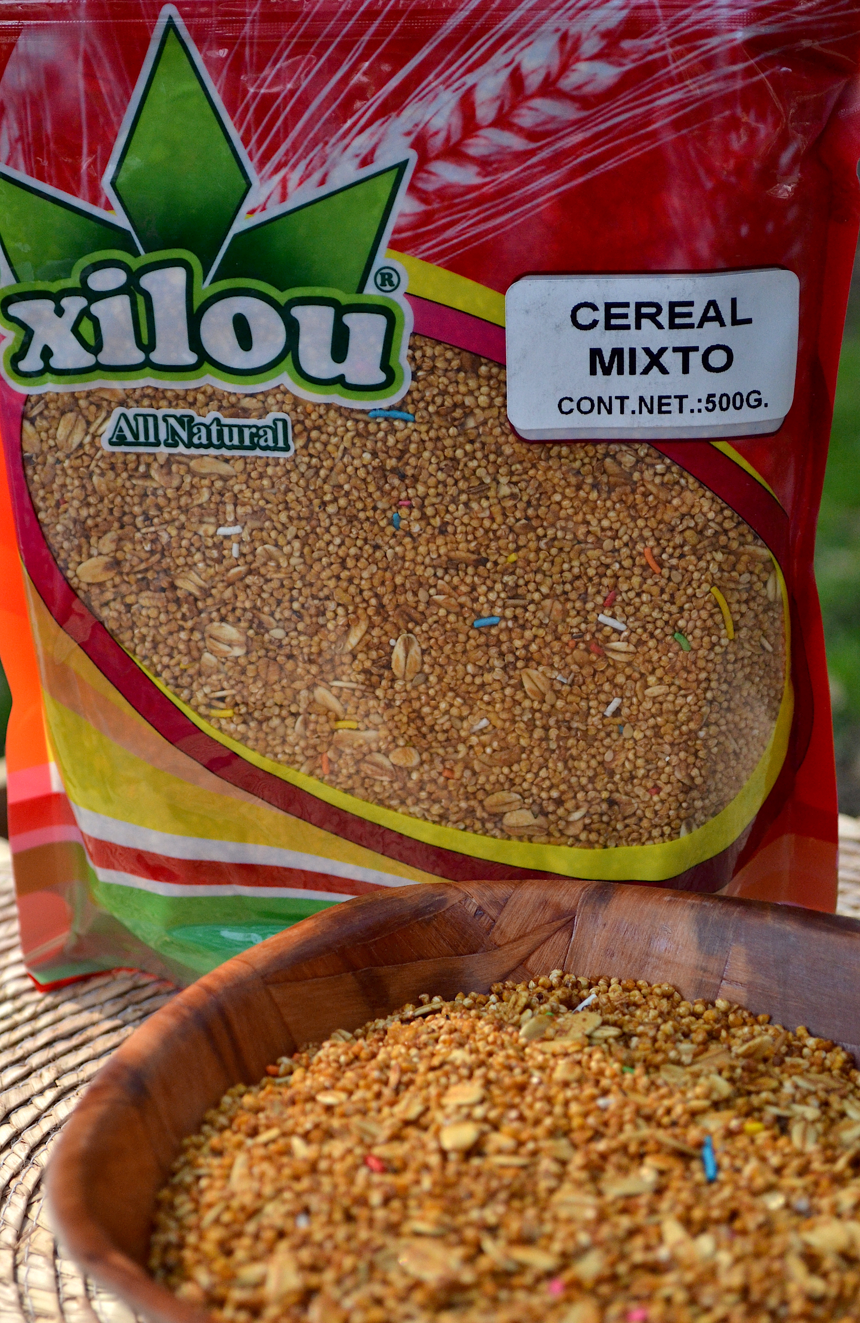 Cereal Mixto 500g.