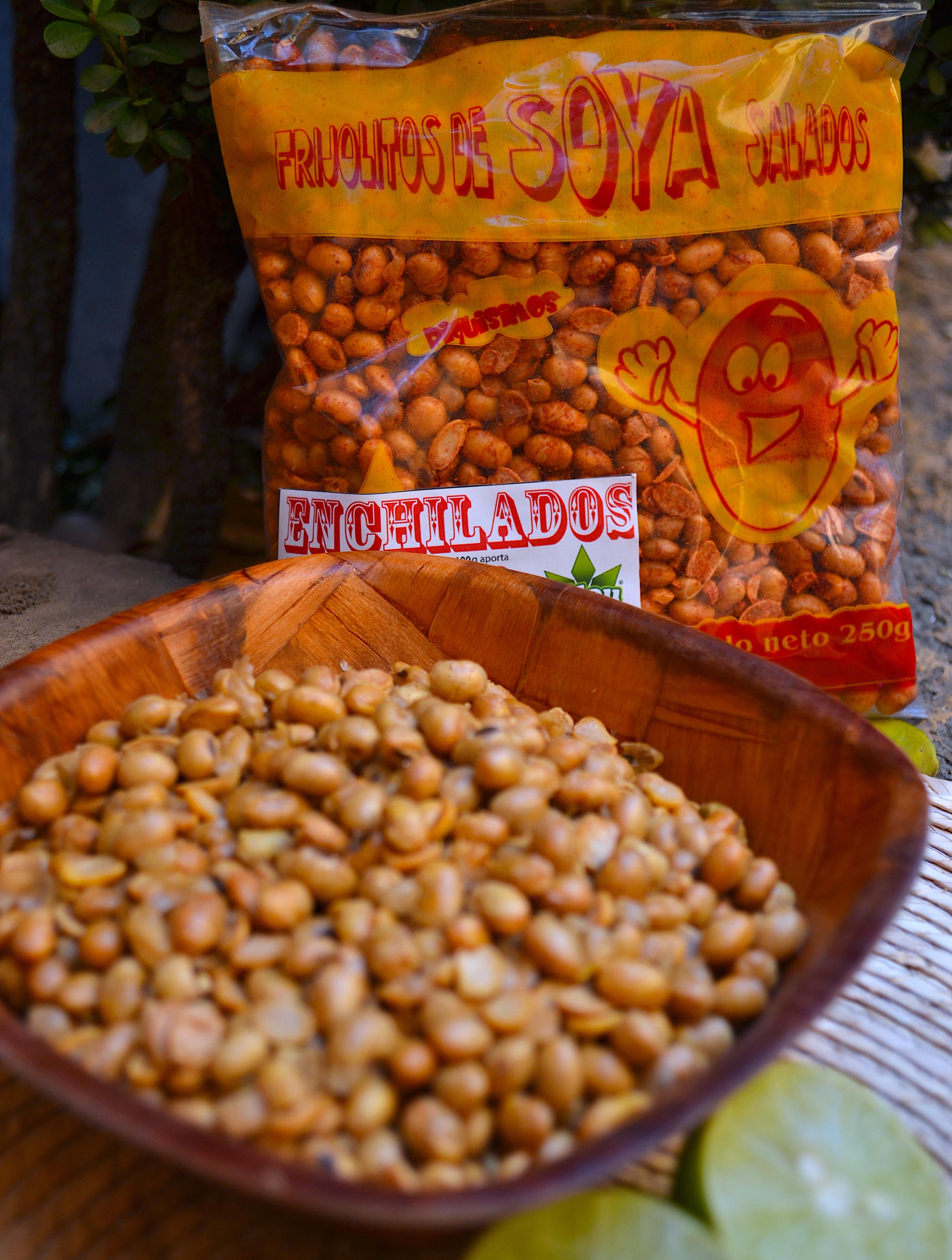 Frijol de Soya Enchilado 250g.