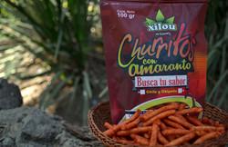 Churritos de Amaranto con Chile 100g