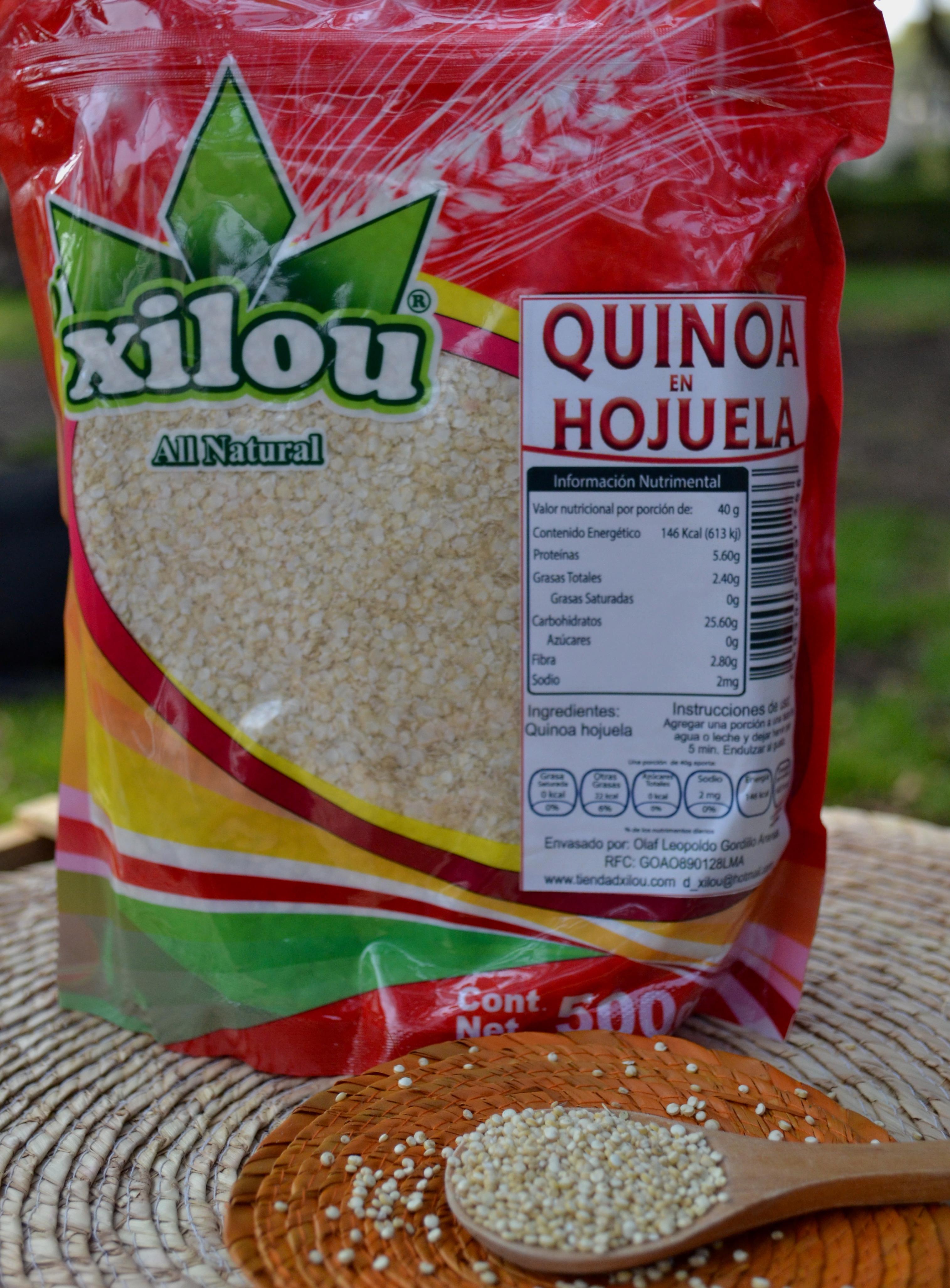 Quinoa en Hojuela 500g.