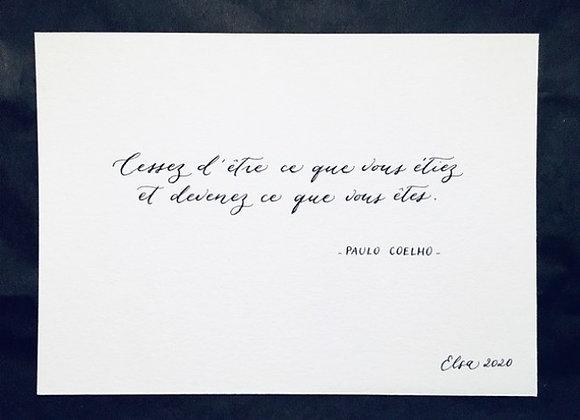 Citation Paulo Coelho