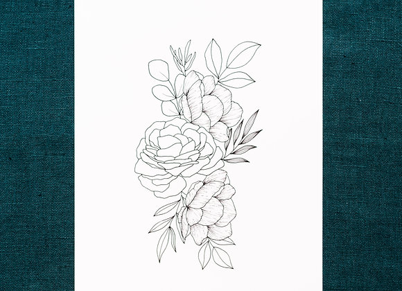 Grappe florale