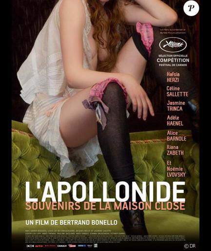 """""""L'Apollonide"""", Costumière, Cinéma"""