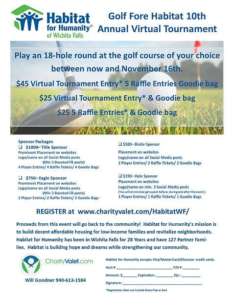 Habitat for Humanity Golf Tournament ONE