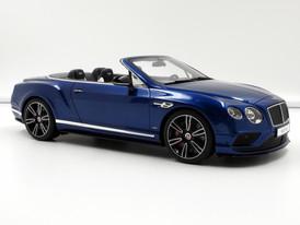 Bentley Continental GT V8 S Convertible (blue) - 2015 - GT Spirit