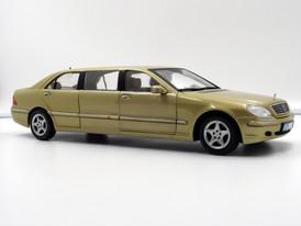 Mercedes-Benz S 600 Pullmann Gold (W220) - 2001 - SunStar