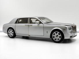 Rolls-Royce Phantom EWB (Silver) - 2009 - Kyosho