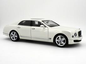 Bentley Mulsanne Speed (Glacier White) - 2014 - Kyosho
