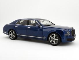 Bentley Mulsanne Speed (Marlin Blue) - 2014 - Kyosho