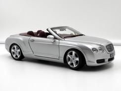 Bentley Continental GTC (silver) - 2006 - Minichamps
