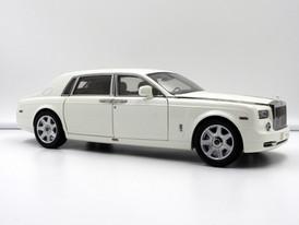 Rolls-Royce Phantom EWB (English White) - 2009 - Kyosho