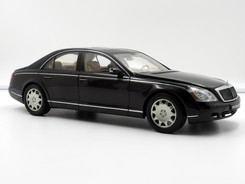 Maybach 57  (Black over Dark Brown) - 2002 - AUTOart