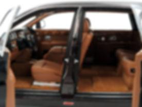 Rolls-Royce Phantom EWB (Dark Red - Silv