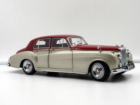Bentley S2 (Silver-Dark Red) - 1960 - Minichamps