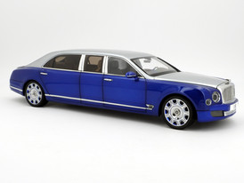 Bentley Mulsanne Grand Limousine (Silver Blue) - 2017 - Almost Real
