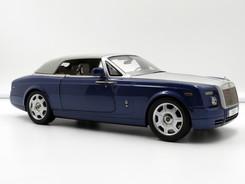 Rolls-Royce Phantom Drophead Coupe (Metropolitan Blue) - 2013 - Kyosho