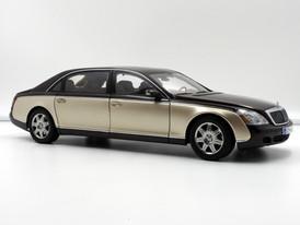 Maybach 62 IAA Special Edition (Dark Brown - Gold Metallic) - 2002 - AUTOart