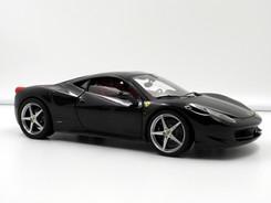 Ferrari 458 Italia (Black-Red) - 2009 - Hot Wheels Elite