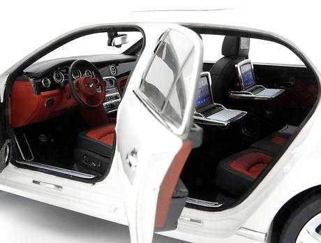 Bentley Mulsanne Speed (Glacier White) -