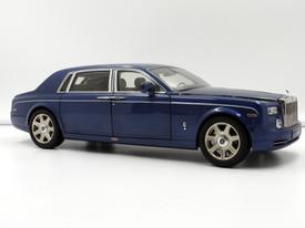 Rolls-Royce Phantom EWB (Metropolitan Blue) - 2009 - Kyosho