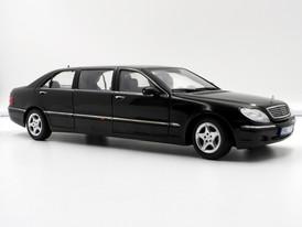 Mercedes-Benz S 600 Pullmann Black (W220) - 2001 - SunStar